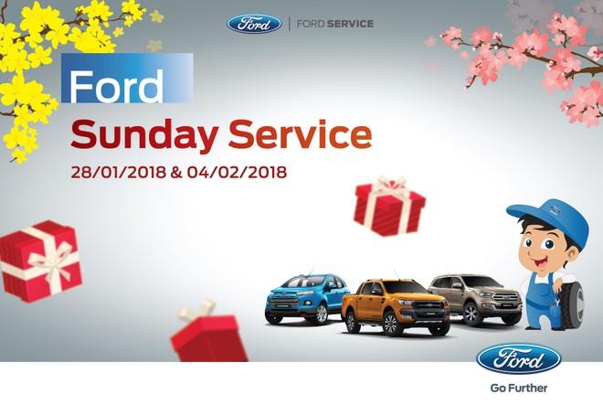 Ford Việt Nam ra mắt 'Ngày Chủ nhật dịch vụ'