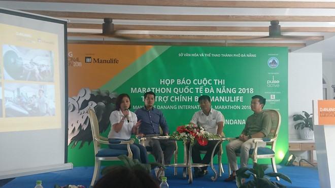 Họp báo về cuộc thi Marathon Quốc tế Đà Nẵng 2018