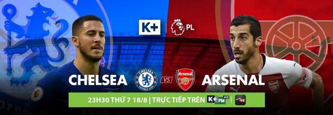 Đón xem Derby London lúc 23h30 trên kênh K+PM và ứng dụng myK+, khán giả có thể mua thẻ cào myK+ NOW để xem ngay cuộc đối đầu này cùng trọn vẹn các trận đấu khác của mỗi vòng Ngoại hạng Anh