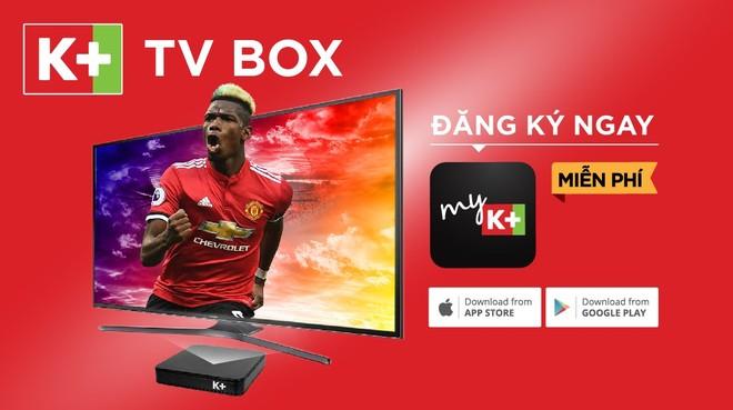 Vừa ra mắt đầu mùa giải mới, K+ TV Box được các khán giả hay di chuyển đặc biệt yêu thích