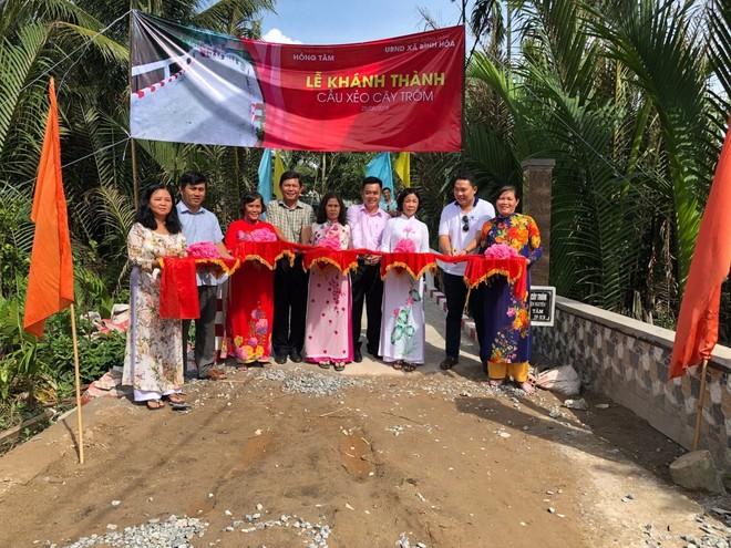 Gotec Land chung tay xây dựng những cây cầu mới tại các tỉnh miền Tây