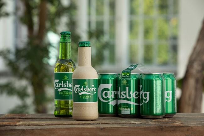 """Cùng với Snap Pack, sáng kiến về chai bia """"giấy"""" Green Fibre đã ghi nhận nỗ lực của Carlsberg trên hành trình không ngừng đổi mới và cải tiến về mọi mặt nhằm theo đuổi sự hoàn hảo"""
