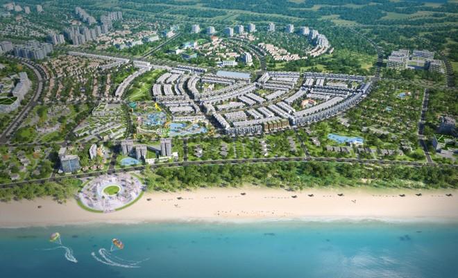 Nhơn Hội New City là dự án hiếm hoi sở hữu 2 mặt tiền quốc lộ 19B cùng mặt tiền biển Nhơn Hội
