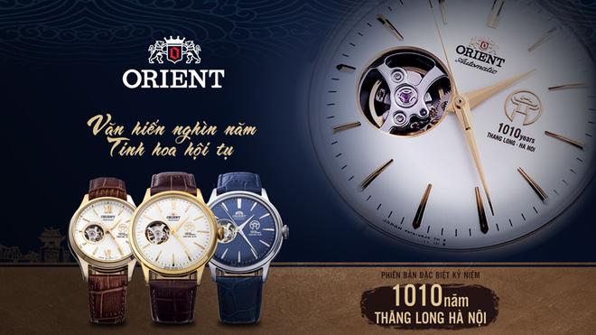Văn hiến nghìn năm, tinh hoa hội tụ trên chiếc đồng hồ Orient 1010 phiên bản đặc biệt ảnh 1