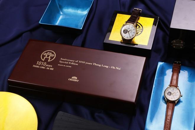 Văn hiến nghìn năm, tinh hoa hội tụ trên chiếc đồng hồ Orient 1010 phiên bản đặc biệt