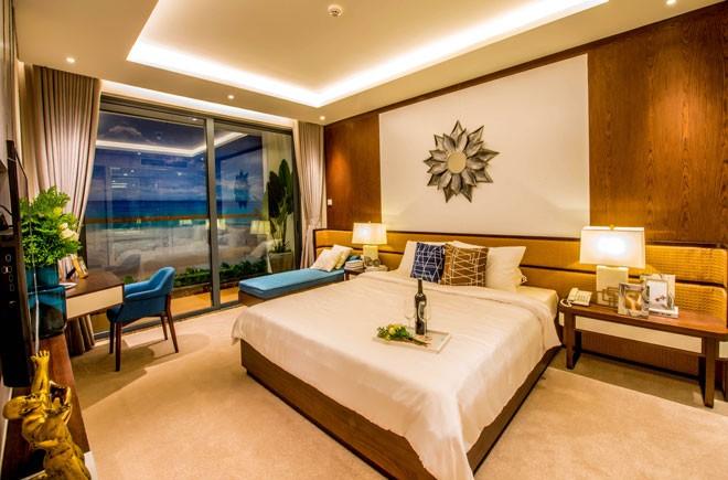 Thiết kế hiện đại giúp các căn hộ tại Aria Đà Nẵng Hotel & Resort đều có tầm nhìn hướng biển