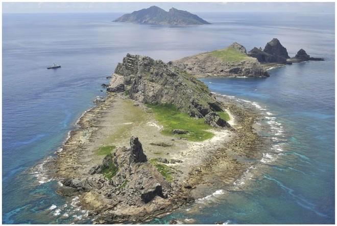 Quần đảo tranh chấp Senkaku/Điếu Ngư ở biển Hoa Đông đang do Nhật Bản kiểm soát