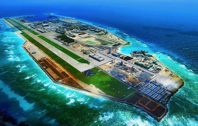 Trung Quốc xây dựng nhiều cơ sở trái phép trên đá Chữ Thập trong quần đảo Trường Sa thuộc chủ quyền của Việt Nam