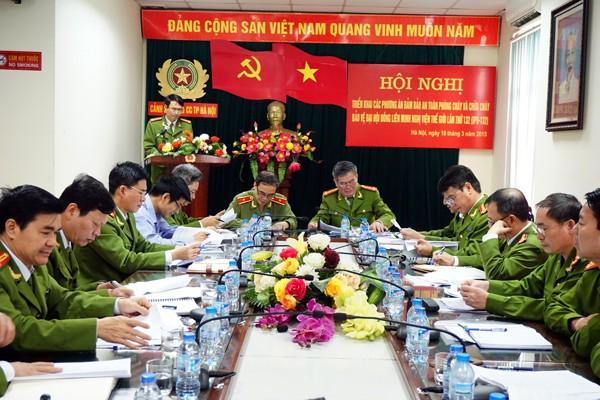 Cảnh sát PC&CC Hà Nội đã sẵn sàng cho sự kiện IPU-132 ảnh 1