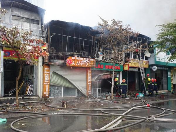 Lực lượng cứu hỏa đã khống chế được đám cháy