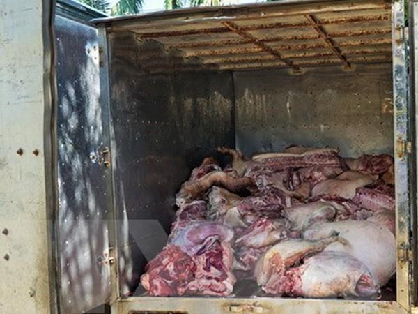 Số thịt lợn không rõ nguồn gốc