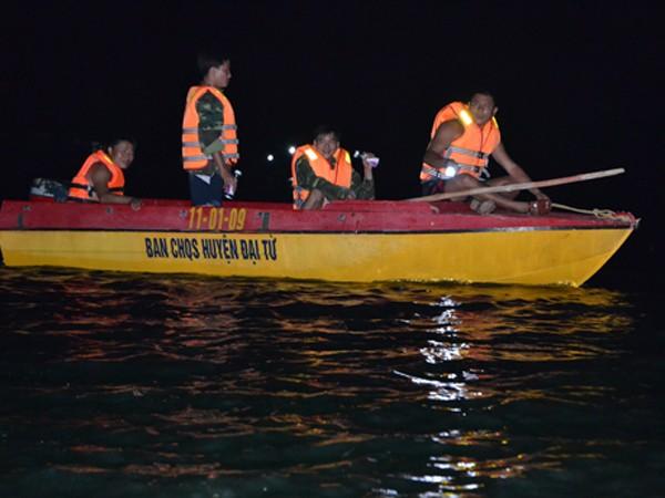 Cơ quan chức năng đang tích cực tìm kiếm cứu nạn
