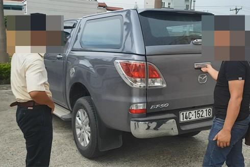 Chiếc xe Minh dùng để chở ma túy