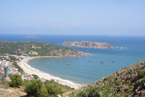 Khu vực biển du lịch Quy Nhơn ở miền Trung Việt Nam là một trong ba thành phố ngoài châu Âu thuộc trọng tâm trong dự án nghiên cứu do EU tài trợ