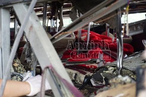 Xác định rõ danh tính lái xe và nạn nhân tử vong vụ nổ xe khách ở Bắc Ninh ảnh 3