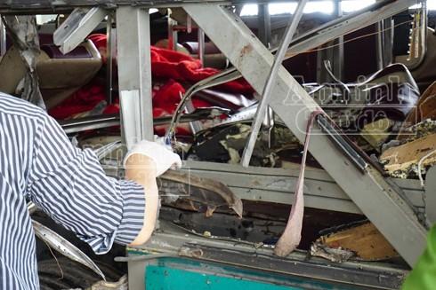 Xác định rõ danh tính lái xe và nạn nhân tử vong vụ nổ xe khách ở Bắc Ninh ảnh 5