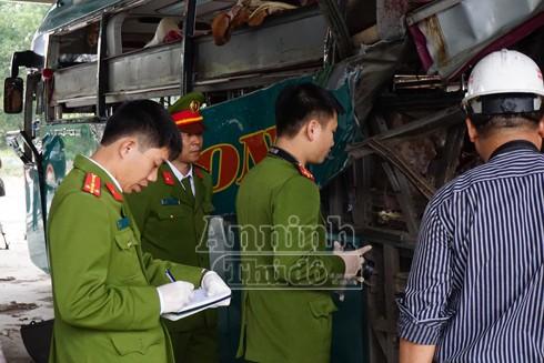 Xác định rõ danh tính lái xe và nạn nhân tử vong vụ nổ xe khách ở Bắc Ninh ảnh 1