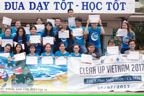Ngày hội Clean Up Việt Nam tại Cà Mau