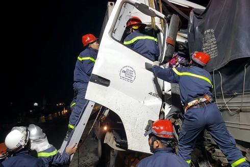 Vụ tai nạn đã khiến 2 nạn nhân bị thương