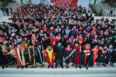 Lễ tốt nghiệp Đại học RMIT, cơ sở Hà Nội đã diễn ra tại Trung tâm hội nghị quốc gia