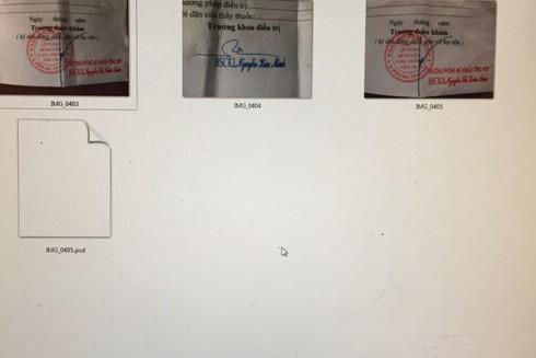 Các phôi giấy tờ giả đối tượng tự chế bán kiểm lời