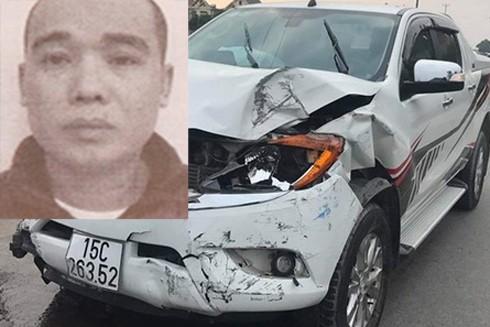 Đối tượng Khanh và chiếc xe gây ra vụ TNGT