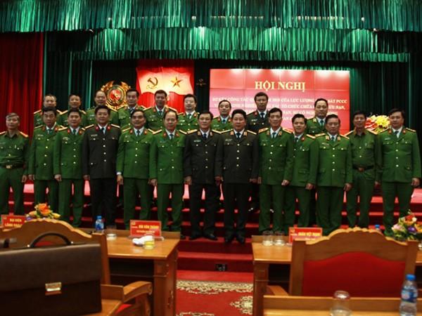 Thứ trưởng Bùi Văn Thành và các đại biểu tại Hội nghị