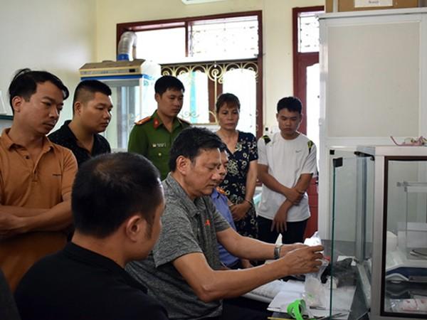 Công an TP Ninh Bình khám xét thu giữ nơi ở của đối tượng Thu