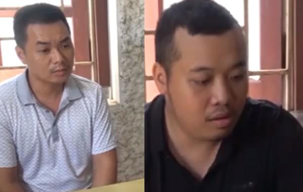Các đối tượng liên quan bị Công an tỉnh Cao Bằng bắt giữ