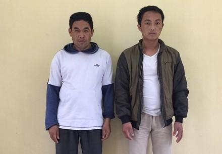 Hai đối tượng bị Công bắt bắt giữ