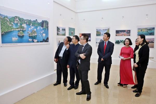 Các khách mời tham dự triển lãm