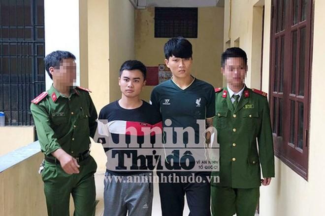 Nhóm đối tượng bị CAH Sóc Sơn bắt giữ