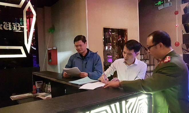 CAQ Nam Từ Liêm thường xuyên kiểm tra các cơ sở kinh doanh karaoke trên địa bàn, xử lý nghiêm nếu phát hiện sai phạm