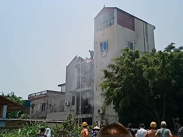 Ngôi nhà xảy cháy từng là quán karraoke