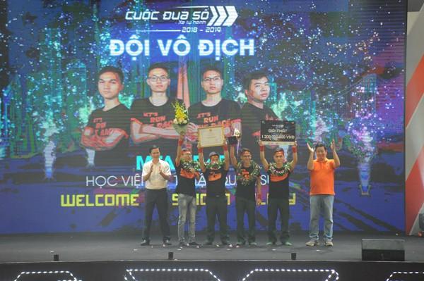 Sinh viên Học viện kỹ thuận quân sự giành vô địch Cuộc đua số mùa 3