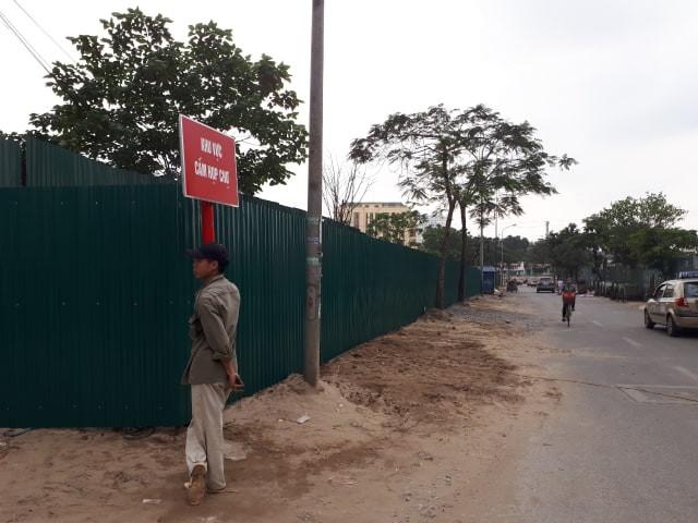 Các khu vực vi phạm đã được xử lý rào tôn bảo vệ chống tái lấn chiếm trái phép