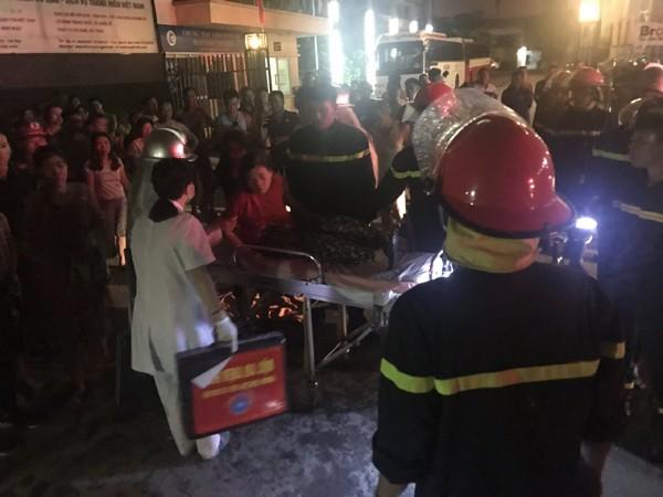 Rất may sau khi được cứu nạn ra ngoài người phụ nữ đã được y tá sơ cứu và cho đến thời điểm sức khỏe đã bình phục
