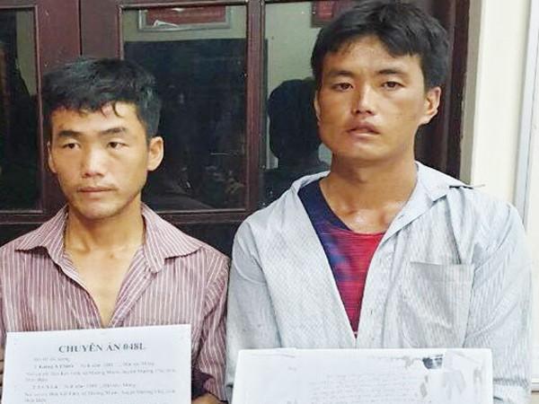 Hai đối tượng vận chuyển ma túy tổng hợp bị bắt giữ