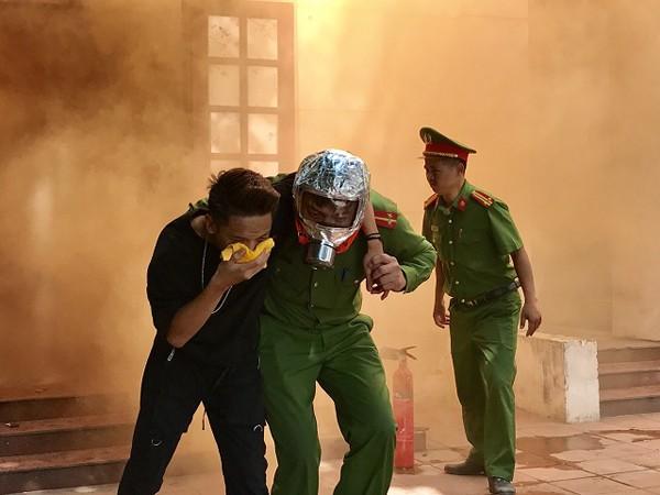 Lực lượng CAP Ngọc Hà tiếp cận tìm kiếm cứu nạn