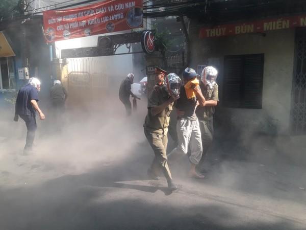 Lực lượng chữa cháy cơ sở có vai trò quan trọng khi phát hiện đám cháy sớm, nhanh chóng khống chế được kịp thời