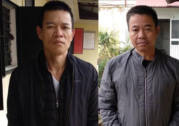 Các đối tượng mua bán trái phép chất ma túy bị CAH Mê Linh bắt giữ