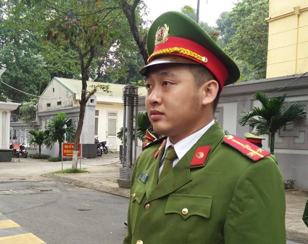 Thượng úy Phạm Đức Ngọc, Công an quận Hai Bà Trưng