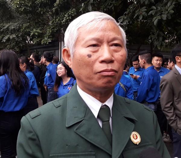 Ông Nguyễn Văn Thắng (65 tuổi) cựu chiến binh trú ở phường Đồng Tâm, quận Hai Bà Trưng