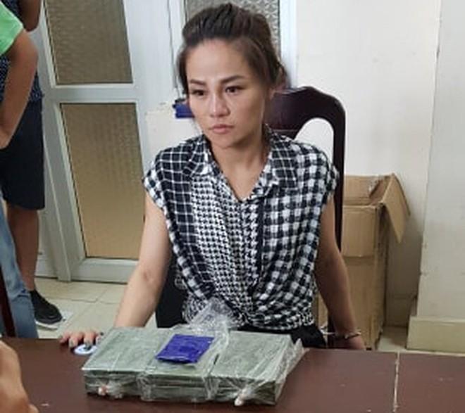 Đối tượng Quàng Thị Kim trong đường dây mua bán, vận chuyển 6 bánh ma túy bị CAP Phú Thượng bắt giữ