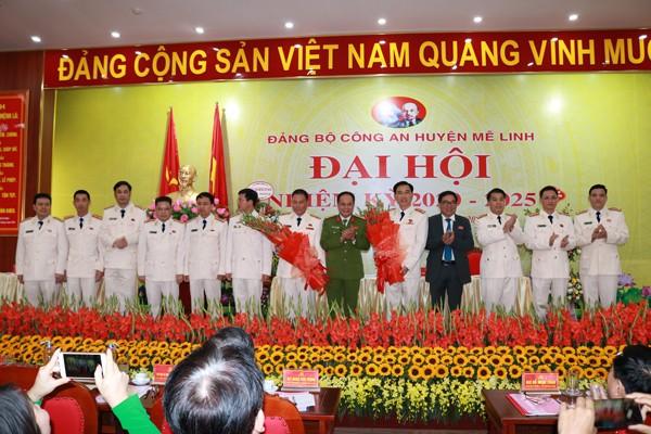 Ra mắt Ban Chấp hành Đảng bộ Công an huyện Mê Linh nhiệm kỳ 2020-2025