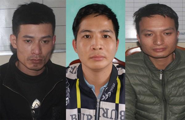 CAH Việt Yên thực hiện lệnh tạm giữ hình sự các đối tượng
