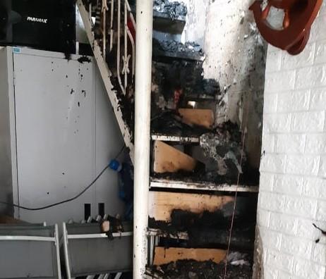 Cháy thiêu rụi nhiều tài sản trong ngôi nhà