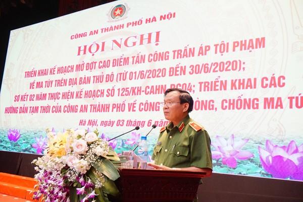 Thiếu tướng Đỗ Đức Bình, Cục phó Cục Cảnh sát ĐTTP về ma túy phát biểu tại hội nghị