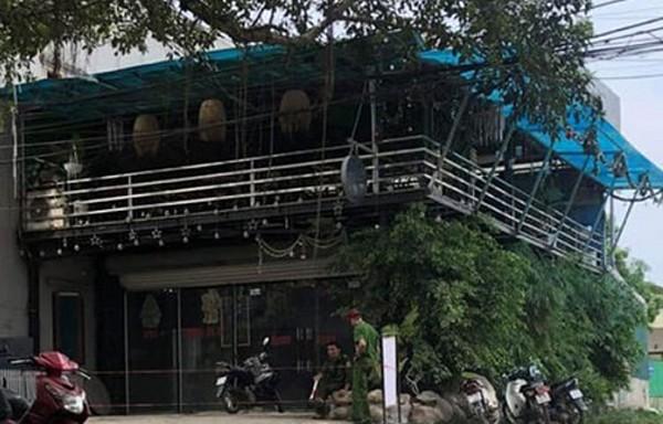 Cơ quan Công an đã nhanh chóng có mặt xác minh, điều tra nguyên nhân vụ việc xảy ra tại quán cà phê