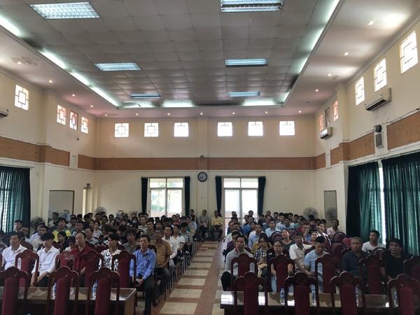 Hàng trăm người dân tham gia tập huấn, tuyên truyền PCCC